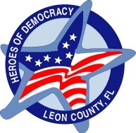 Heroes of Democracy Elections Office Logo