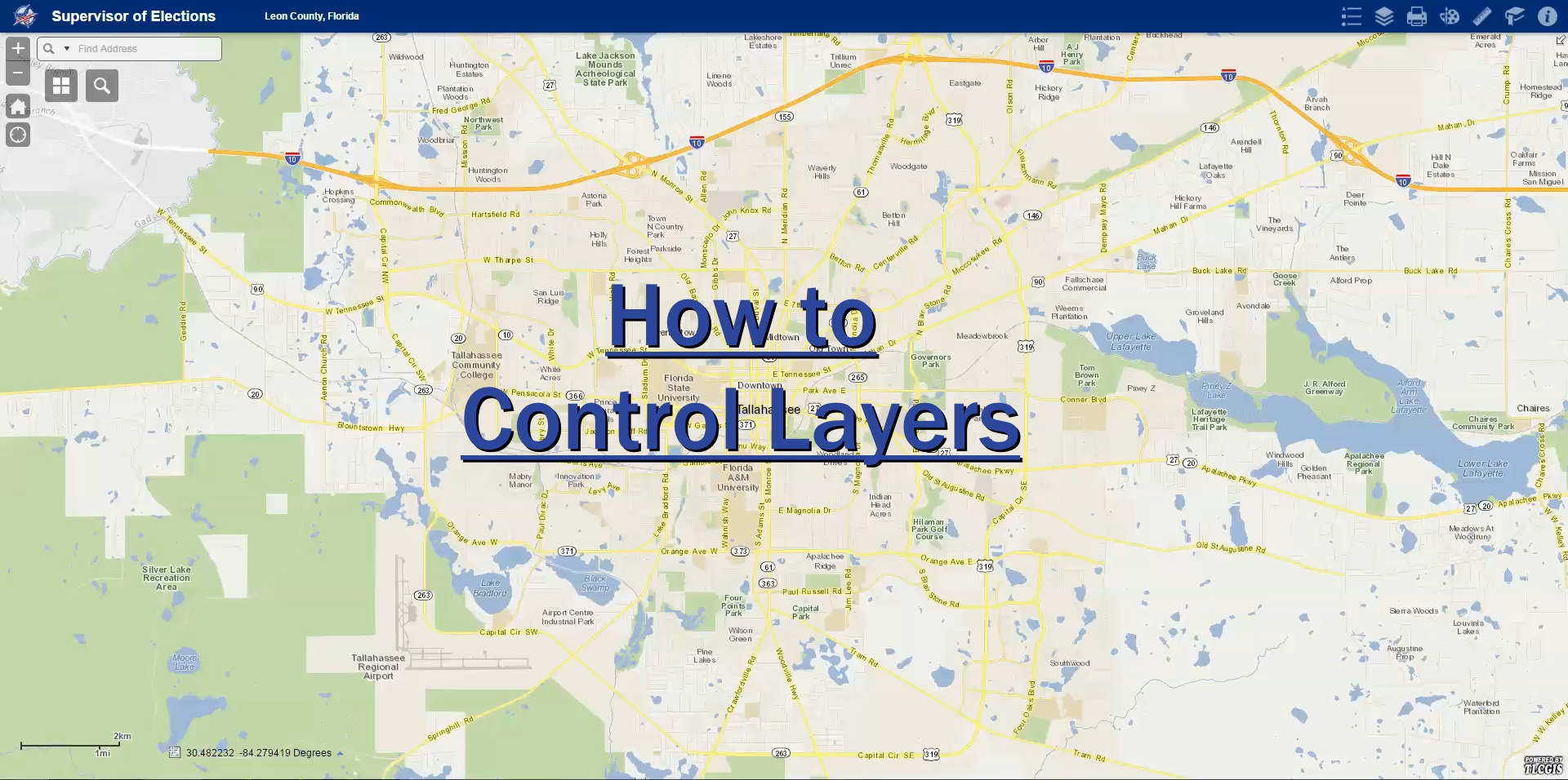 How To Control Layers First Scene